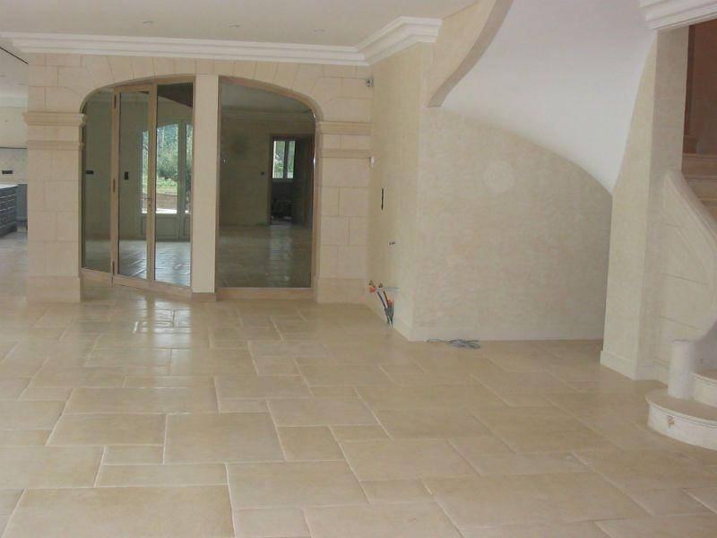 cleaned restored flagstone floor