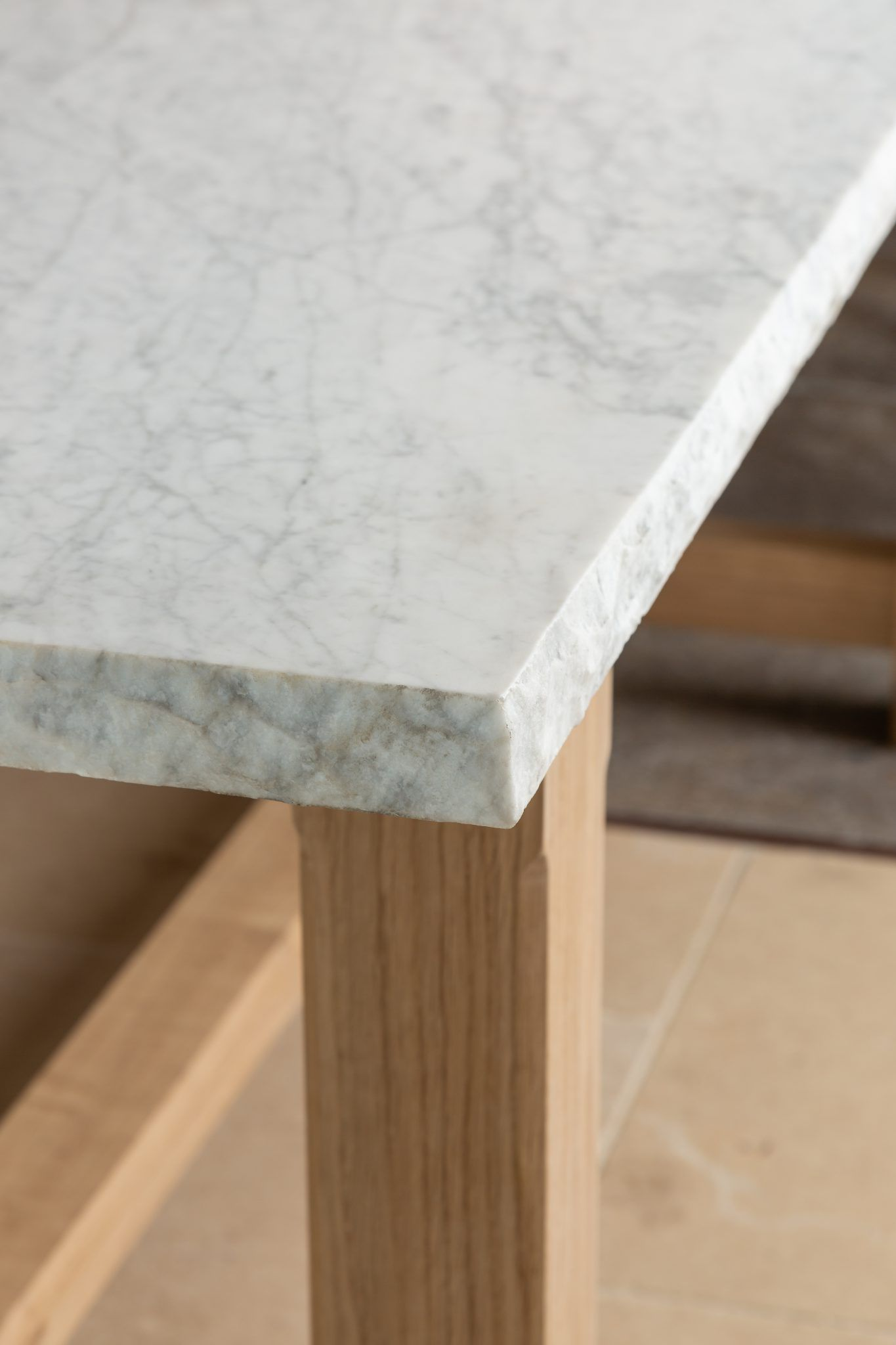 corner of table