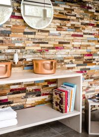 Wood Cladding Feature Wall