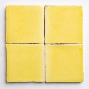 Yellow glazed wall tiles - Amarillo glazed tiles