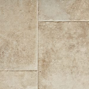 Beige Tumbled Limestone Effect Porcelain Tiles