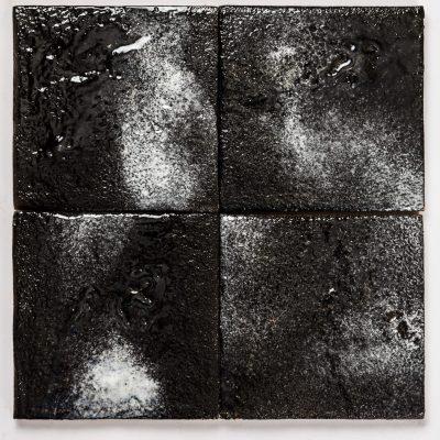 black asphalt fusion glazed wall tiles