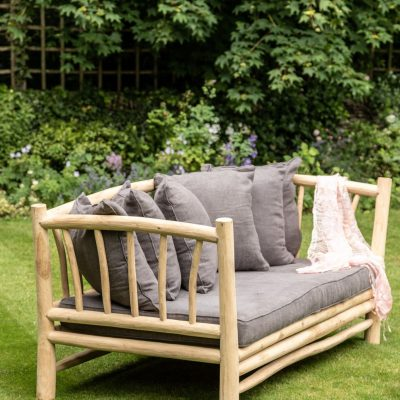 modern teak wood sofa UK