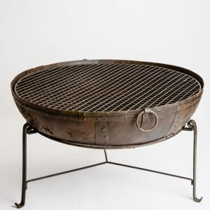 reclaimed handmade fire pit
