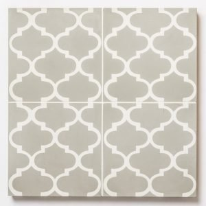 Labyrinth Patterned Encaustic Tiles