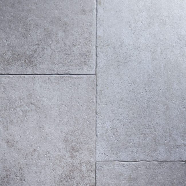 light grey porcelain tile