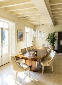 saur wood dining table