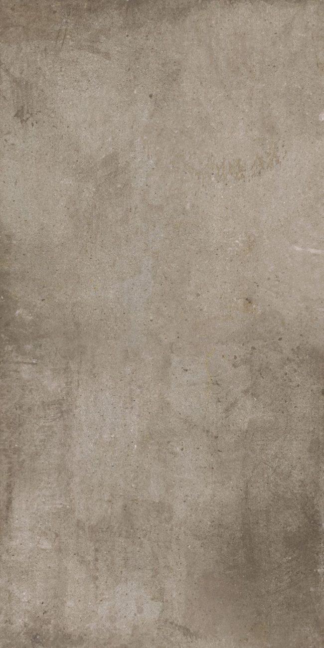 concrete look porcelain tiles taupe