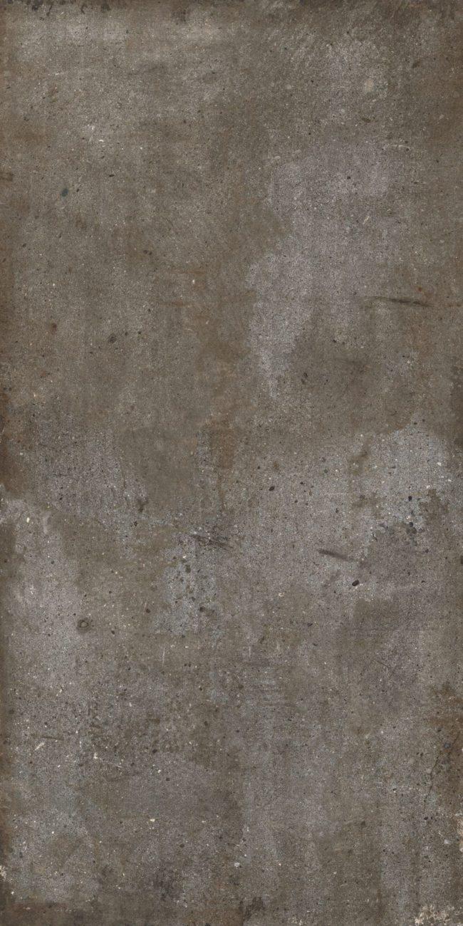 dark grey concrete effect porcelain tiles