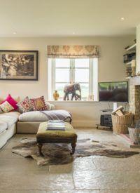 beautiful living room limestone tiles