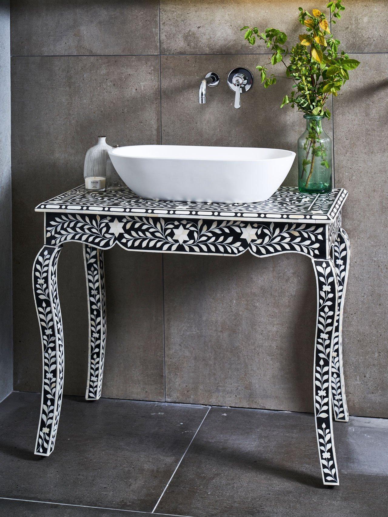bone inlay furniture bone inlay washstand