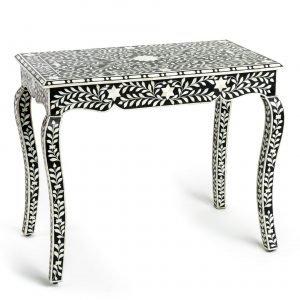 bone inlay washstand dressing table