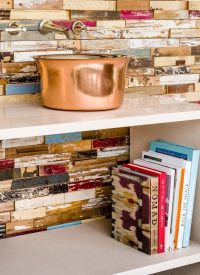 metal basins colourful wall cladding