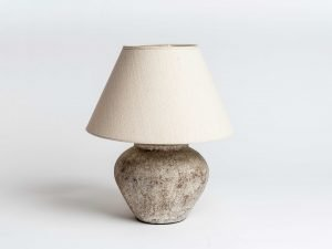 luxury terracotta table lamp