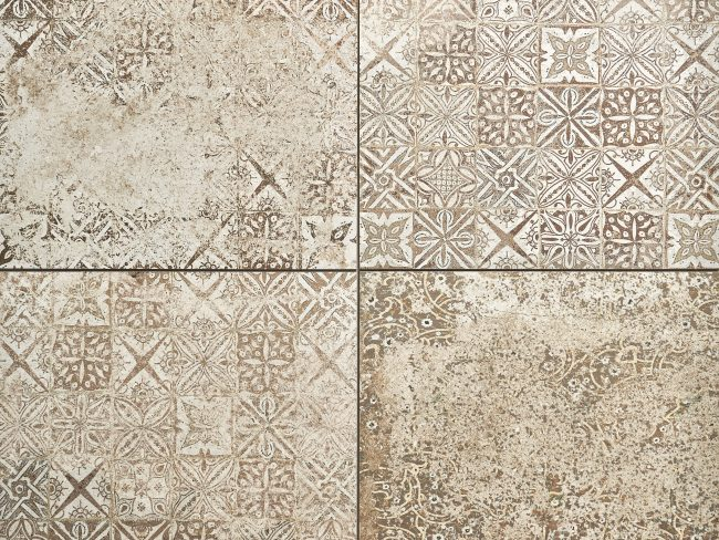 Patterned Porcelain Tiles Firenze Decor Tuscan porcelain tiles