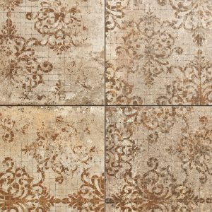Patterned Porcelain Tiles - Vulcia Decor Tuscan porcelain tiles