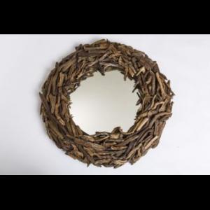 driftwood mirror UK round Driftwood mirror