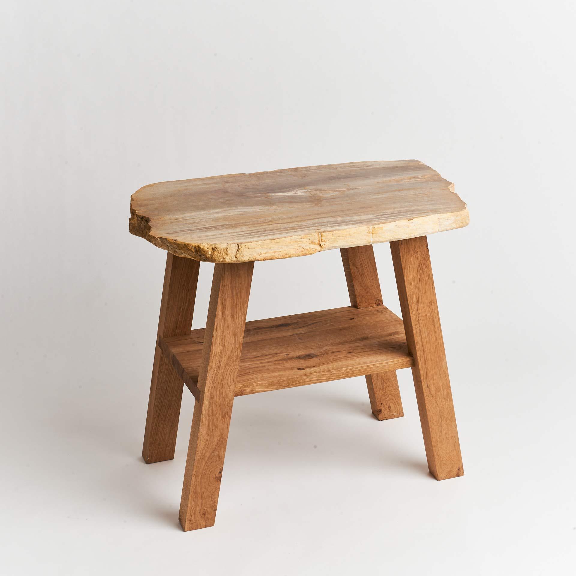 petrified-wood-oak-washstand